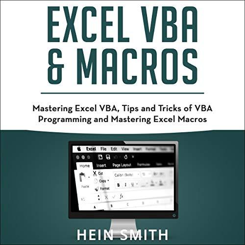 Couverture de Excel VBA & Excel Macros