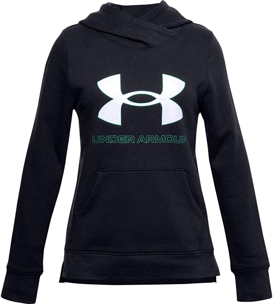 Under Armour Girls' Rival Super sale period limited Seattle Mall Fleece Logo Hoodie