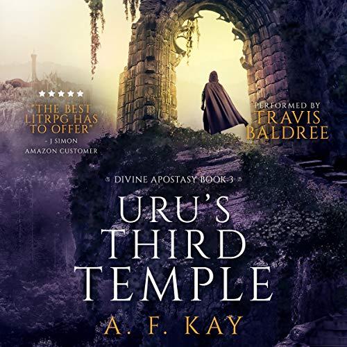 Uru's Third Temple: A Fantasy LitRPG Adventure cover art