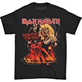 Global Merchandising Iron Maiden Number of The Beast T-Shirt (XX-Large) Black