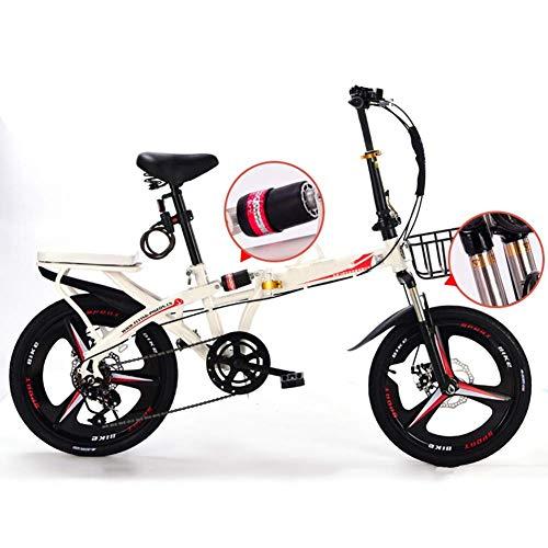 YANGHAO-Bicicleta de montaña para adultos- Bicicleta Sin Pedales Niños Electrica Plegable Adulto...