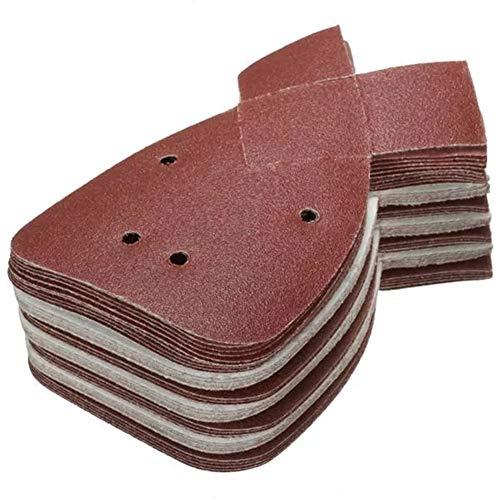 Purchase Multitool Sanding Kits 40Pcs 120 Grit for Black and Decker Detail Palm Sander Aluminum Oxid...
