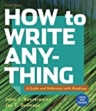 How to Write Anything with Readings with 2020 APA Update: A Guide and Reference