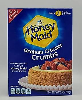 Nabisco Honey Maid Graham Cracker Crumbs 13.5oz Box  Pack of 3