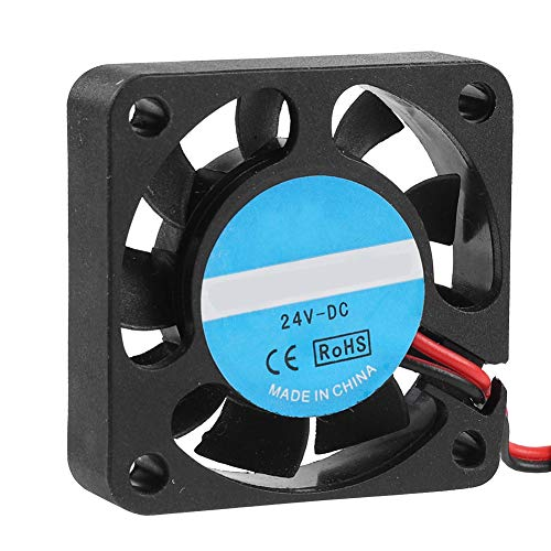 ASHATA 3D Cooling Blower Fan,Extruder Cooling Fan Quiet Blowing Blower Cooling Fan For 3D Printer Humidifier, 24V 7000RPM Blower Fan for 3D Printer Accessories