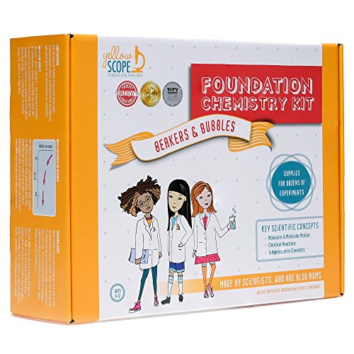 YELLOW SCOPE | Foundation Chemistry Kit: Fun & Educational Science/STEM Experiments for Kids
