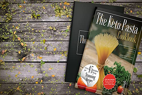 The Keto Pasta Cookbook for Beginners: Quick and delicious Low Carb Recipes studied to Intensify Weight Loss - Enjoy your Pasta and Become Healthier (Grace Dough's Cookbooks)