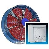 950m/³//h Ventilador industrial Ventilaci/ón Extractor Ventiladores ventiladore industriales Axial axiales extractores centrifugo aspiracion