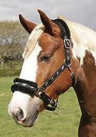 Adjustable noseband Rhinegold Everyday Item 100% faux fur trim Horse Essentials Soft and comfortable