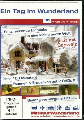 Ein Tag im Wunderland - 2 DVDs vom Miniatur-Wunderland Hamburg
