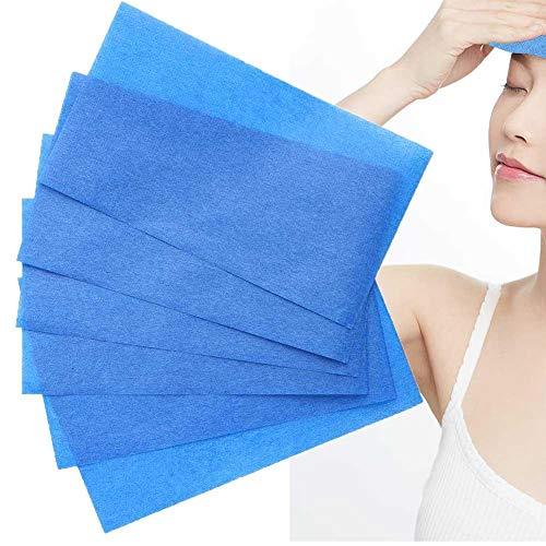 Papier de nettoyage, papier absorbant l'huile Film de maquillage Films de contrôle absorbant l'huile Visage Clean Beauty Blot Paper 50pcs