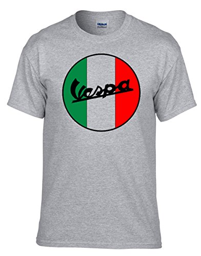 Vespa Scooter Fun T-Shirt - 371 - Grau (XL)