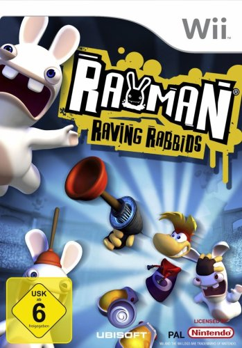 Rayman Raving Rabbids [Software Discount 99] - [Nintendo Wii]