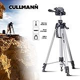 Cullmann 52128 Alpha 2800 Stativ (mit 3-Wege-Kopf, 184,5 cm (72,6 Zoll) Höhe, 2 Auszüge) silber
