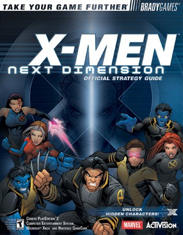 X-MEN™: Next Dimension Official Strategy Guide