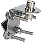 Tram Stainless Steel So-239 to So-239 Antenna Mirror Mount