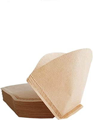 Coffee Filter Paper,Pack of 100,2 to 4 People use,No. 102 American Coffee Machine