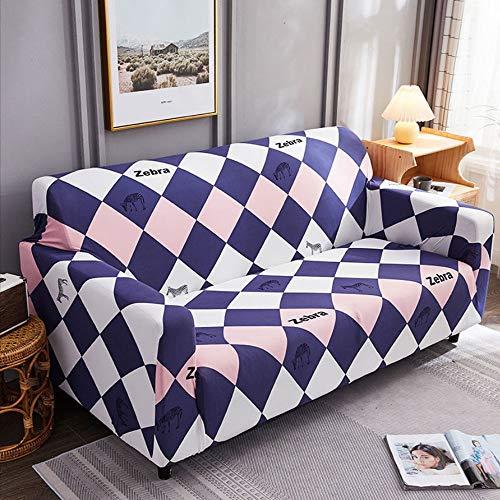 AYWJ Fundas de Sofá Elasticas de 1 2 3 4 Plazas Universal Funda Cubre Sofas Ajustables, Antideslizante Protector Cubierta de Muebles (Color : Color 12, Size : AA 235-300+BB 235-300cm)