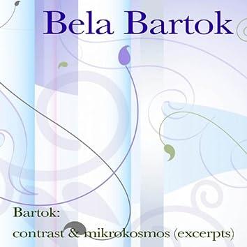 Bartók: contrast & mikrokosmos (excerpts)