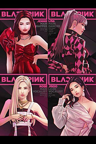 Blackpink: Planner - Sticker Planner to Increase Productivity & Happiness - Weekly Planner, Organizer & Gratitude Journal for Stress Relief, Happiness and Relaxation for KPOP lovers 6x9