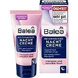 Balea - Reichhaltige Nachtcreme- für trockene und sensible Haut- vegan - 1 x 50 ml
