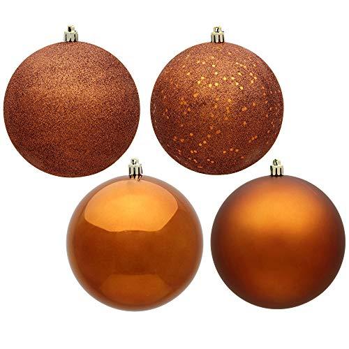 Vickerman Ball Ornament, 2.75', Copper