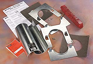 Firestop Sleeve, Shape: Cylinder, Up to 4 hr. Fire Rating, Silver