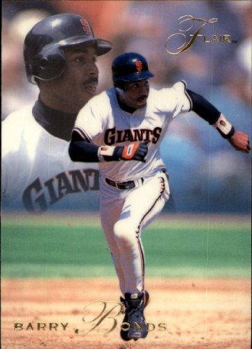 1993 Flair Baseball Card #138 Barry Bonds