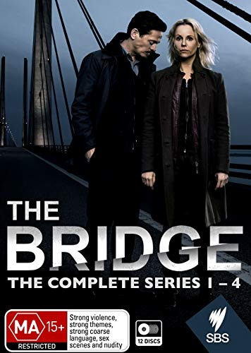 Die Brücke / The Bridge - Complete Series 1-4 - 12-DVD Boxset ( Bron/Broen ) [ Australische Import ]