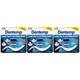 Dentemp Maximum Strength Dental Cement, 0.07 Ounce, 3 Count (Packaging May Vary)