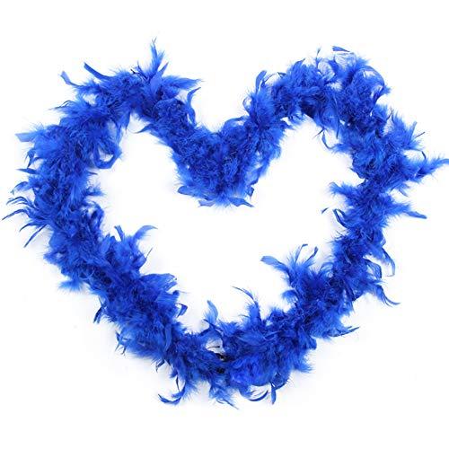 Feather Boas party Dressup costume accessori donna Girls Dress Up Boa per fai da te Decorazione Blue