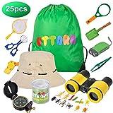 UTTORA Prismaticos niños,Kit de Binoculares para Niños ,Regalos para...
