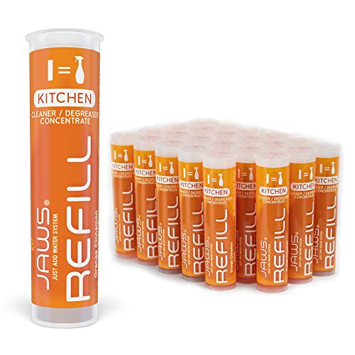 JAWS Kitchen Cleaner Refill Pods. Box of 24. Non-Toxic and Eco-Friendly Cleaning Products.
