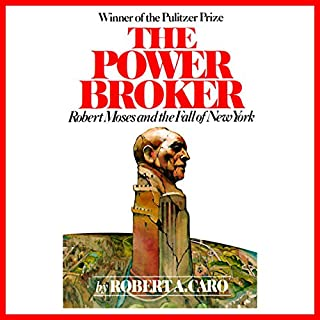 The Power Broker audiobook cover art