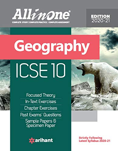 All in One Geography ICSE Class 10 2020-21