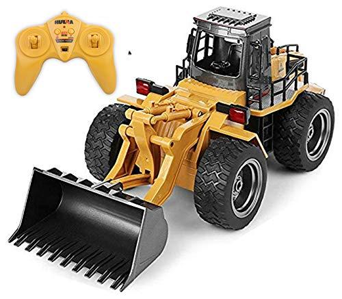 Kldstar Ferngesteuertes Auto, RC LKW, Legierung, Schaufel Loader Traktor 2,4 G Radio Baufahrzeug Elektronisches Spielzeug? RC Auto LKW Geschenk*
