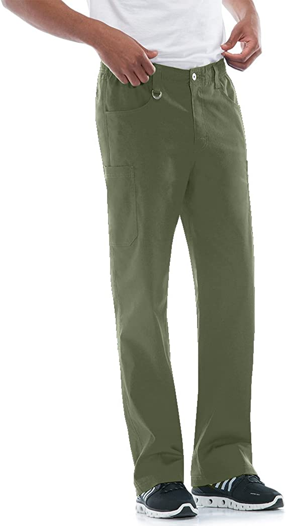 Dickies Men's Zip Fly Pull-on Scrub Pant