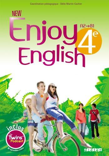 New Enjoy English 4e - Manuel + DVD-rom