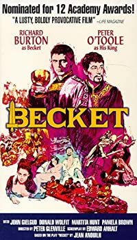Becket   Letterboxed Edition  [VHS]