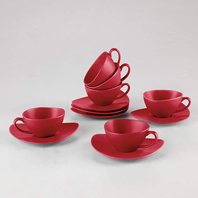 Ensemble tasse à café en céramique,Tasse et soucoupe set de thé-K