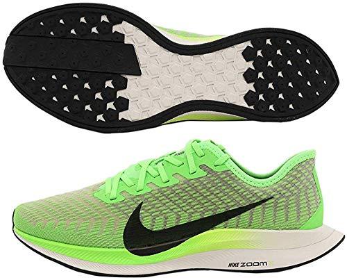 Nike Zoom Pegasus Turbo 2, Zapatillas de Trail Running Hombre, Verde (Electric Green/Black/Bio Beige/Phantom 300), 47.5 EU