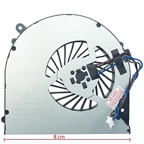 (8cm Version 1) Lüfter Kühler Fan Cooler kompatibel für Fujitsu LifeBook A514, LifeBook A544, LifeBook A556, LifeBook A556/G, LifeBook AH544, LifeBook AH564,