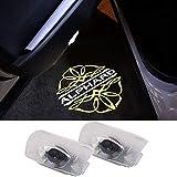 Aohong アルファード車用 カーテシランプドアランプ ロゴ ドアウェルカムライト カーテシライト LEDロゴ投影 20系30系トヨタシリーズ カーテシ for Alphard