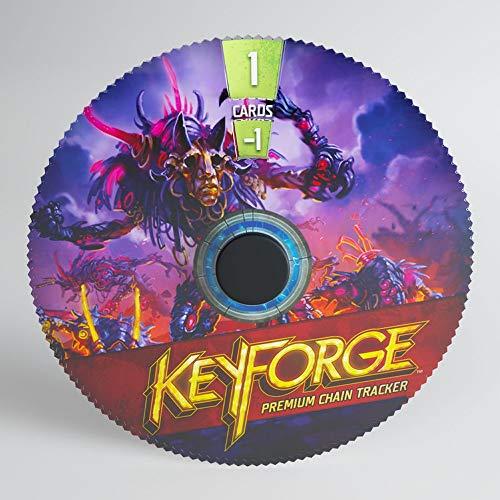 GAMEGEN!C- Keyforge Premium DIS Chain Tracker ML, Couleur (GGS60002ML)