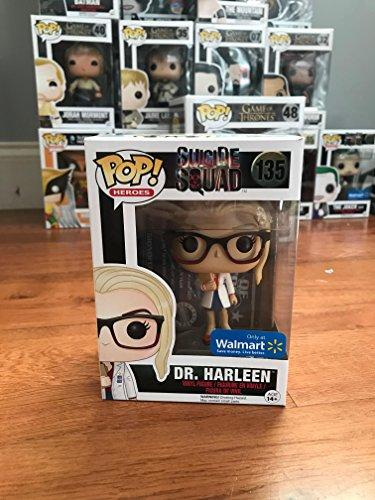 Funko - Figurine DC Heroes Suicide Squad - Dr Harleen Quinzel Exclu Pop 10cm - 0889698102582