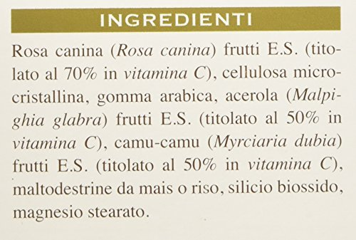Dr. Giorgini Integratore Alimentare, Vitamina C Pura Pastiglie - 90 g
