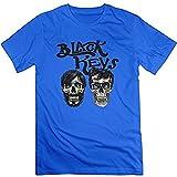 JSZ-FUll Men's 2015 The Black Keys Patrick Carney Dan Auerbach T-shirt