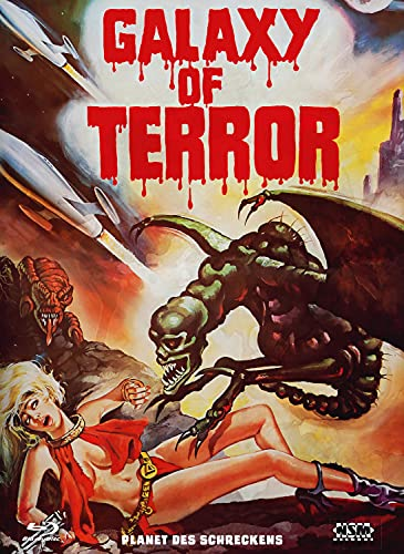 Planet des Schreckens - Galaxy of Terror [Blu-Ray+DVD] 2K remastered - uncut - limitiertes Mediabook Cover E [Alemania] [Blu-ray]