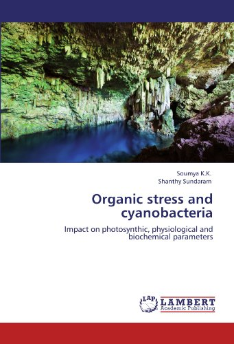 Organic stress and cyanobacteria: Impact on photosynthic, physiological and biochemical parameters