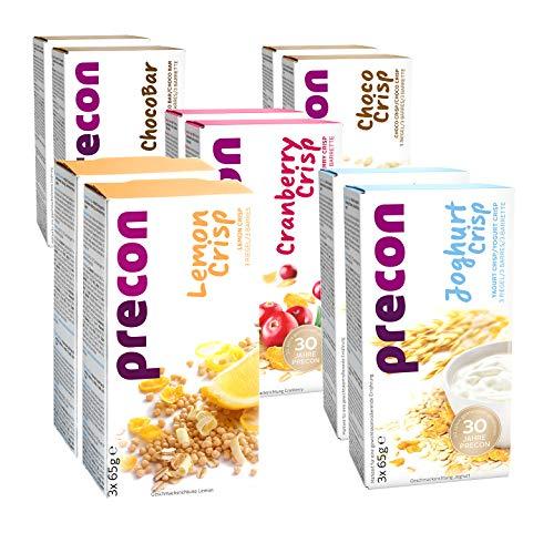 Precon BCM Diät Riegel zum Abnehmen – Riegelpaket – 30 Riegel à 64 g – Mahlzeitenersatz für eine gewichtskontrollierende Ernährung